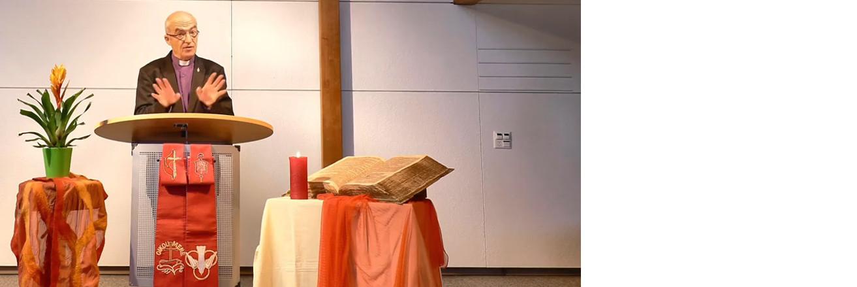 Poselství biskupa Streiffa k Letnicím